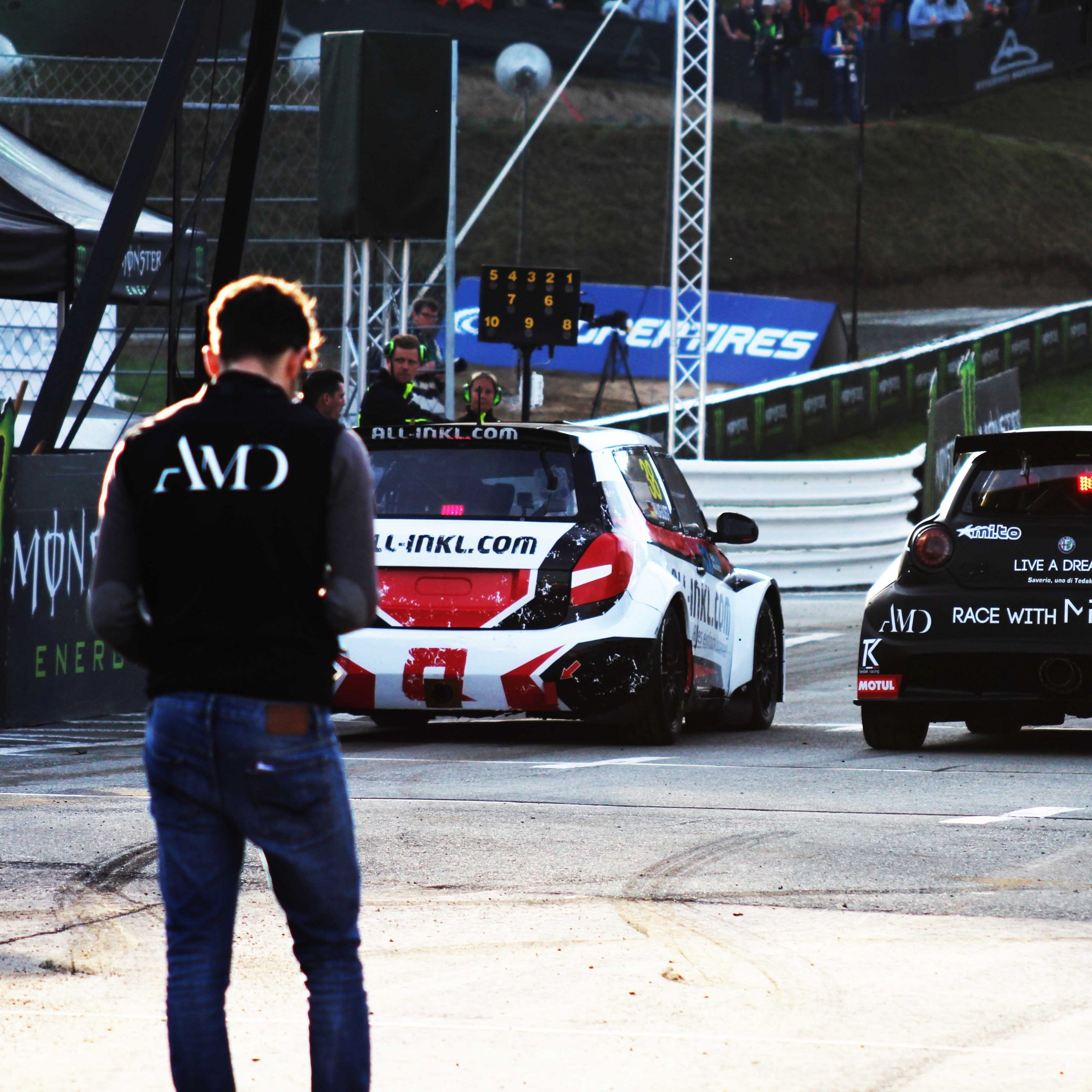 Alfa Romeo MiTo Rallycross Estering AMD 04