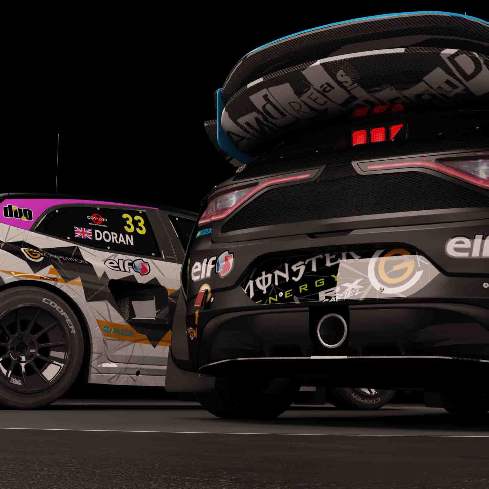 Renault Megane FIA World Rallycross AMD 02 a