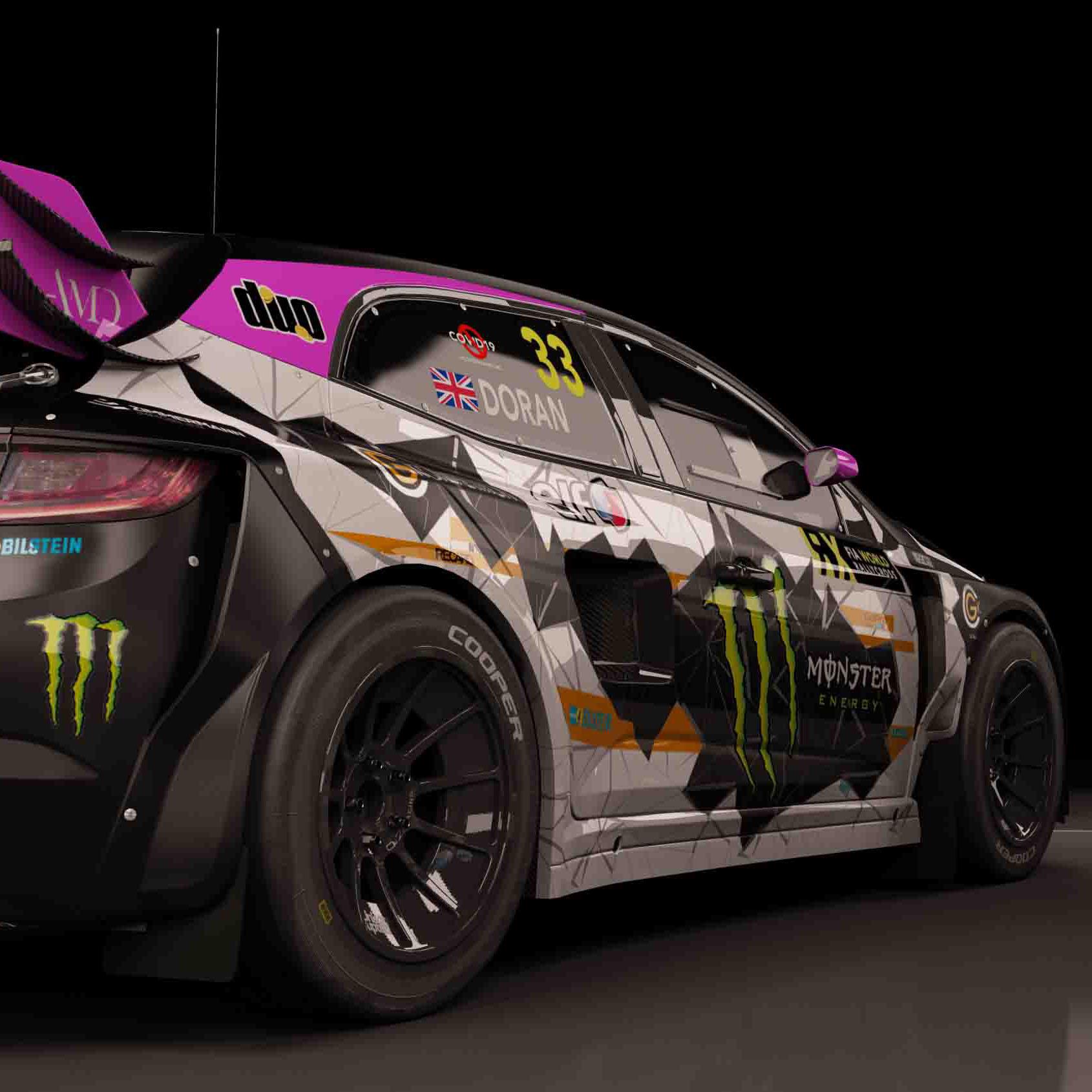 Renault Megane FIA World Rallycross AMD 03 a