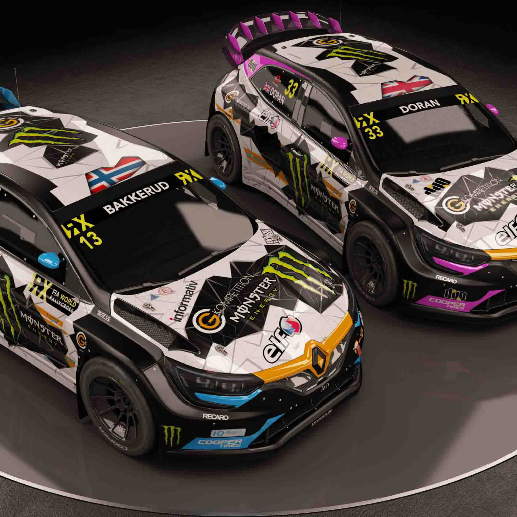 Renault Megane FIA World Rallycross AMD 06 a
